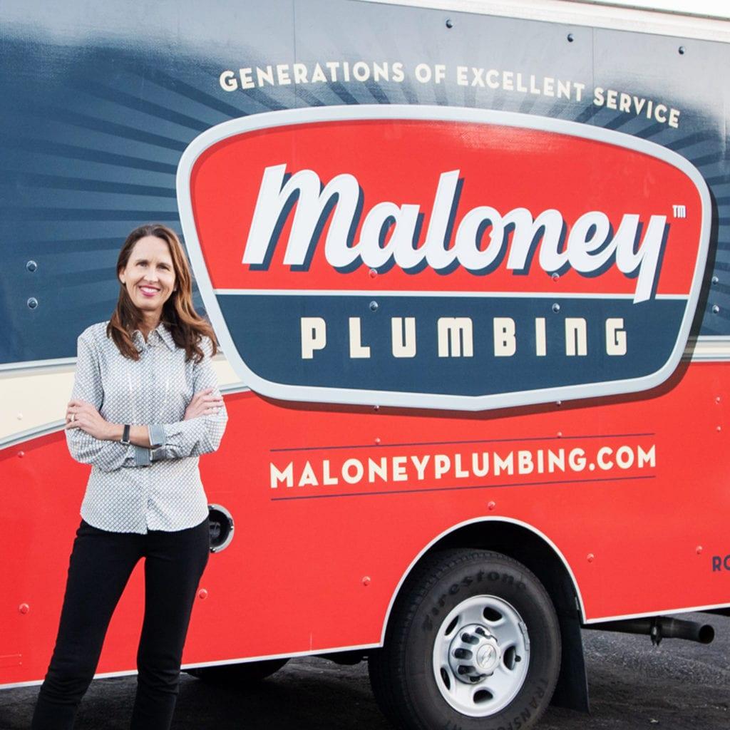 Maloney Plumbing Trucks
